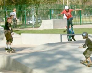 costa mesa volcom skate park