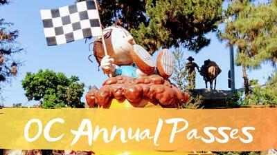 Orange County Annual Passes